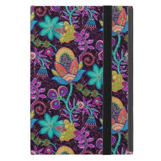 Colorful Glass Beads Look Retro Floral Design 2 iPad Mini Cases