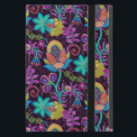 """Colorful Glass Beads Look Retro Floral Design 2 iPad Mini Cover<br><div class=""""desc"""">Colorful retro flowers made with class beads look.  This is image of glass beads and not real beads. Design is available on other products. It coms it several color combination.</div>"""