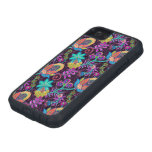Colorful Glass Beads Look Retro Floral Design 2 iPhone 5 Cases