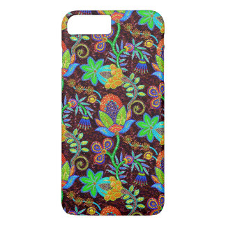 Colorful Glass Beads Look Retro Floral Design 2 iPhone 7 Plus Case