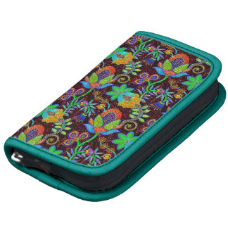 Colorful Glass Beads Look Retro Floral Design 2 Planners