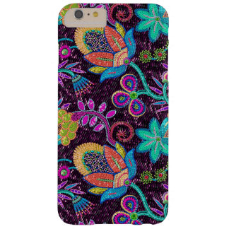Colorful Glass Beads Look Retro Floral Design Barely There iPhone 6 Plus Case
