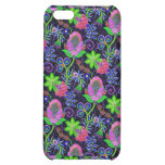 Colorful Glass Beads Retro Floral Design 2 Cover For iPhone 5C