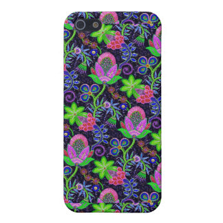 Colorful Glass Beads Retro Floral Design 2 iPhone SE/5/5s Case