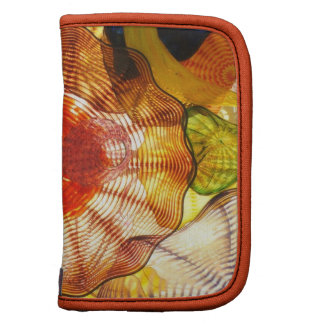 Colorful Glass Blowing Abstract Folio Planners
