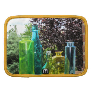Colorful Glass Bottles Organizer
