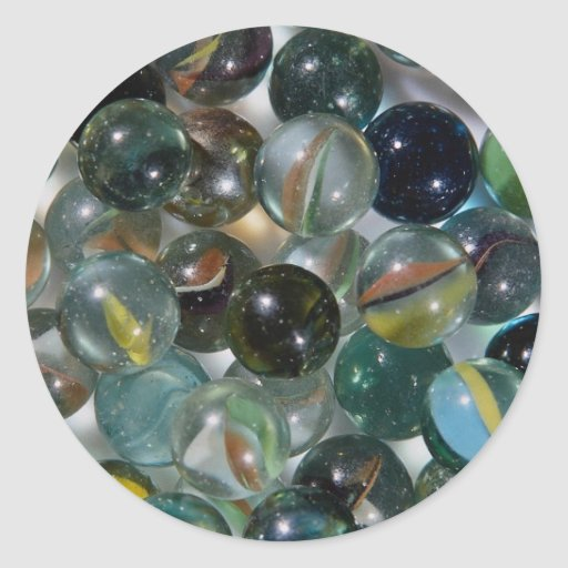 Colorful Glass marbles Sticker