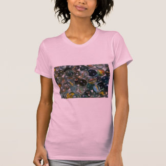 Colorful Glass marbles Tee Shirt