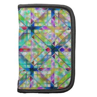 Colorful Glass Organizer