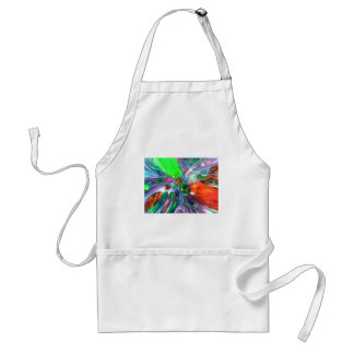 Colorful Glass Rings Adult Apron