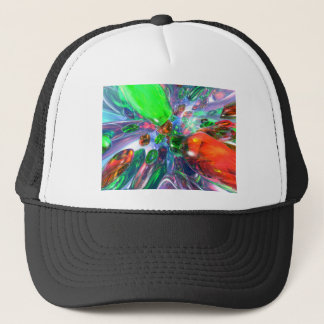 Colorful Glass Rings Trucker Hat