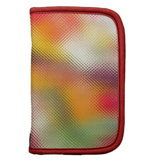 Colorful glass texture organizers