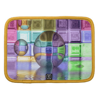 Colorful Glass Tile Worlds Organizers
