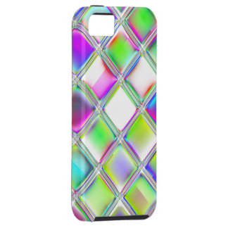 Colorful Glass Tiles Digital Art SmartPhone Covers iPhone 5 Cover