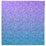 Colorful Glitter And Sparkles Pattern Napkins