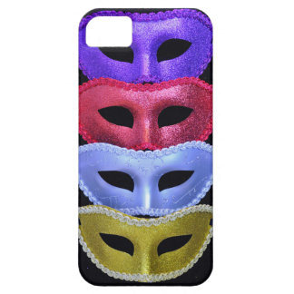 Colorful glitter masks iPhone SE/5/5s case