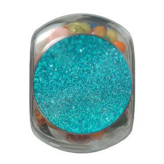 Colorful Glitter Shiny Diamonds Glass Jars