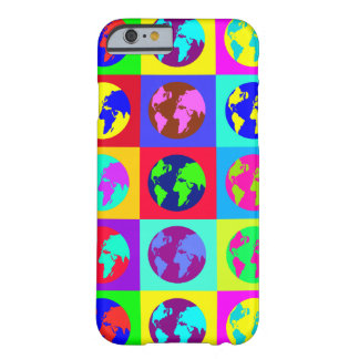 Colorful Globes Barely There iPhone 6 Case