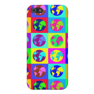 Colorful Globes Cover For iPhone SE/5/5s