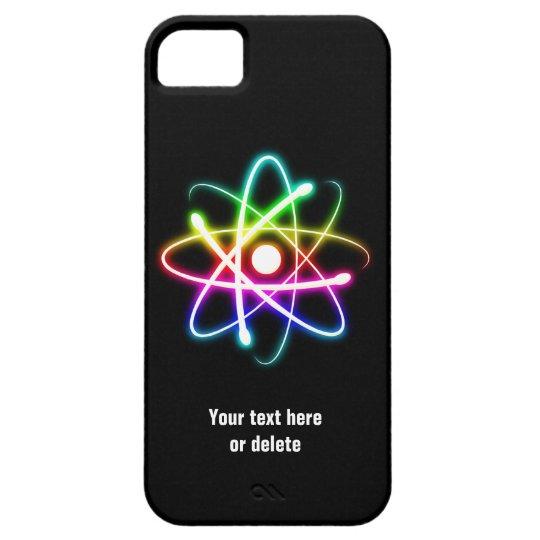 Colorful Glow Atom Symbol iPhone SE/5/5s Case