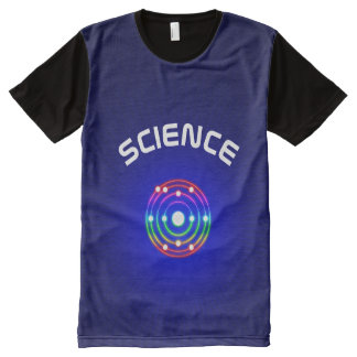 Colorful Glow Sodium Symbol All-Over Print Shirt