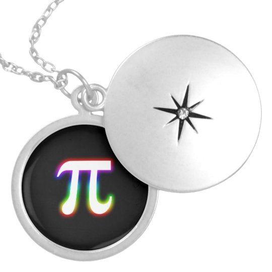 Colorful Glowing Pi   Math Necklaces