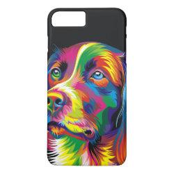 Case-Mate Tough iPhone 7 Plus Case with Golden Retriever Phone Cases design