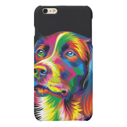 Case Savvy iPhone 6 Plus Glossy Finish Case with Labrador Retriever Phone Cases design