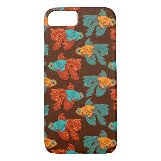 Colorful Goldfish iPhone Case