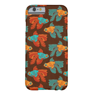 Colorful Goldfish iPhone Case Barely There iPhone 6 Case