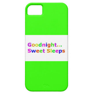 COLORFUL GOODNIGHT SWEET SLEEPS EXPRESSIONS HAPPY iPhone 5 CASES
