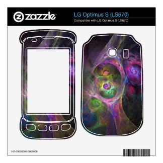 Colorful Goop Decals For LG Optimus S