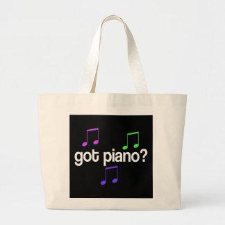 Colorful Got Piano Totebag Jumbo Tote Bag