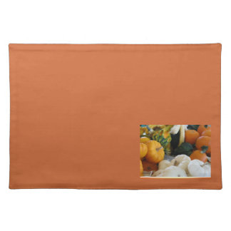 Colorful Gourds place mat