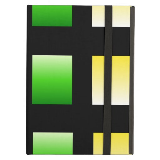 Colorful Gradient Squares Cover For iPad Air