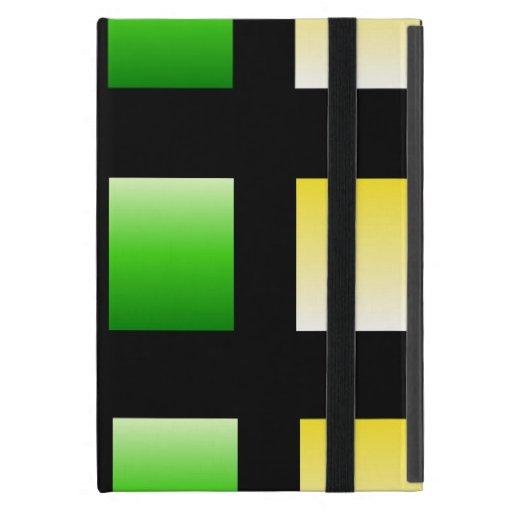 Colorful Gradient Squares Cases For iPad Mini