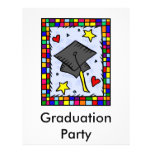 Colorful Graduation Flyer