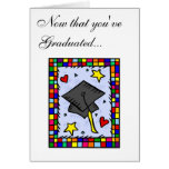 Colorful Graduation Greeting Card