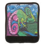 Colorful Graffiti Chameleon Handle Wrap