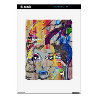 Colorful Graffiti Decal For The iPad