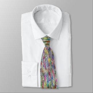 Colorful Graffiti Tie