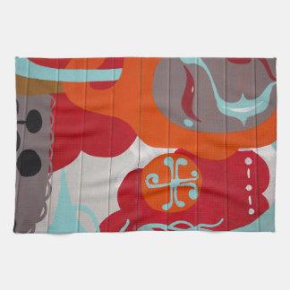 Colorful Graffiti Towels