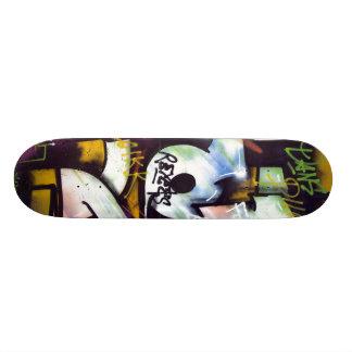 Colorful Graffiti Words Skateboard Deck
