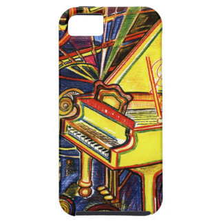 Colorful Grand Piano iPhone 5 Covers