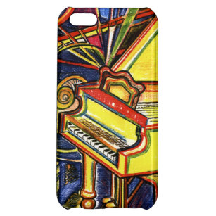 Colorful Grand Piano Case For IPhone 5C