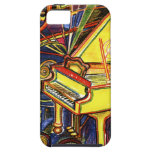 Colorful Grand Piano iPhone 5 Cover