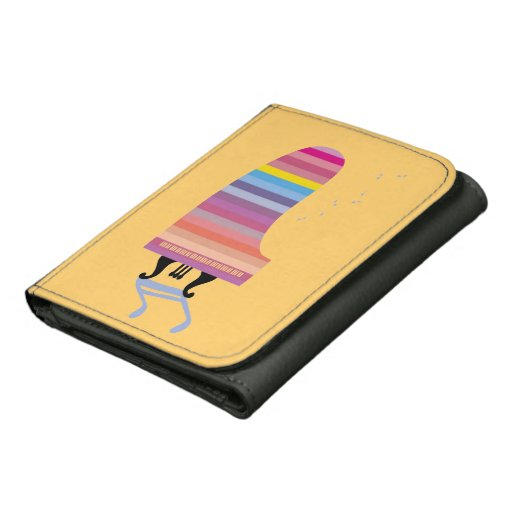 Colorful Grand Piano Wallet