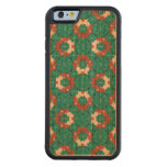 Colorful Graphic Floral Carved Cherry iPhone 6 Bumper Case