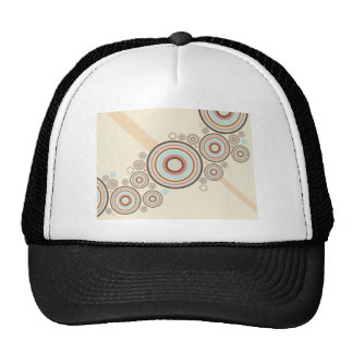 Colorful Graphic Rings Trucker Hat