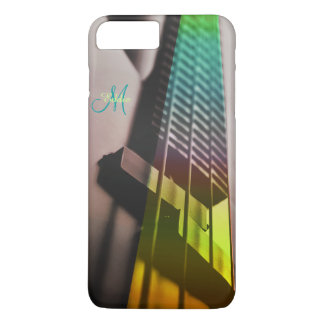 Colorful Green Bass Guitar Music iPhone 7 Case